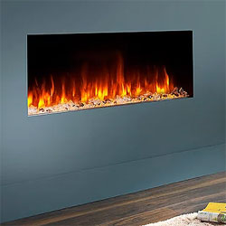 Costa Fires Atlantis MF Trimless Hole in Wall Electric Fire