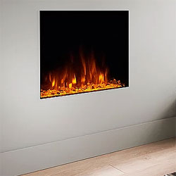 Costa Fires Atlantis SF Trimless Hole in Wall Electric Fire