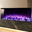 Costa Fires Discovery XL 3 Sided Electric Fire