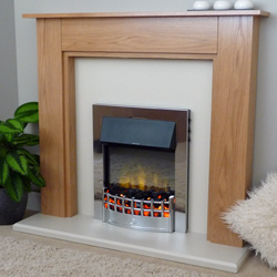 Delta Fireplaces Egerton Electric Suite