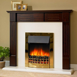 Delta Fireplaces Hatton Electric Suite