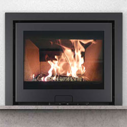 Di Lusso Eco R6 3 Sided Inset Wood Burning Stove
