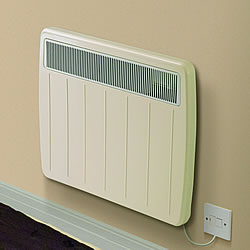 Dimplex PLX3000TI Timer Panel Heater Willow White