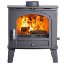 Eco Ideal Stoves ECO 4 Slimline Multi Fuel Wood Burning Stove SPECIAL OFFER