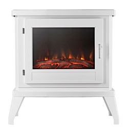 Eko Fires 1350 LED White Electric Stove