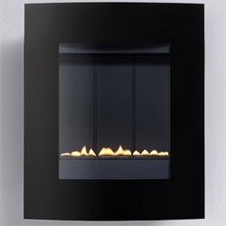 Eko Fires 5010G Curved Glass Flueless Gas Fire