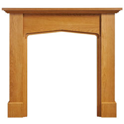 Eko Fires 7030 Mini Mercia 48 Oak Wooden Fireplace Surround