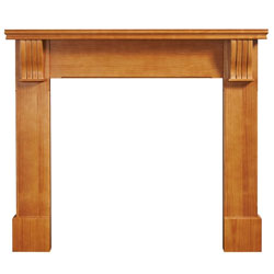 Eko Fires 7040 Dartmoor 53 Pine Wooden Fireplace Surround