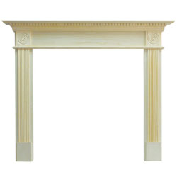 Eko Fires 7060 Waybridge 54 Unfinished Pine Wooden Fireplace Surround