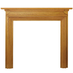 Eko Fires 7070 Dawlish 51 Oak Wooden Fireplace Surround