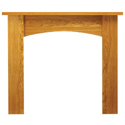 Eko Fires 7090 Wellington 51 Oak Wooden Fireplace Surround
