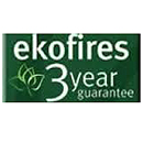 Eko Fires 3 Year Guarantee