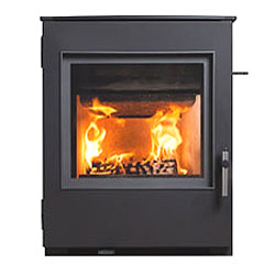 Esse 301 SE Black Contemporary Inset Multifuel Wood Stove