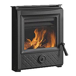 Esse 350 SE Black Diamond Inset Multifuel Wood Stove