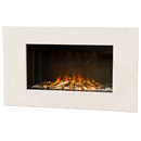 Europa Fireplaces Calvi White Mist Electric Fire