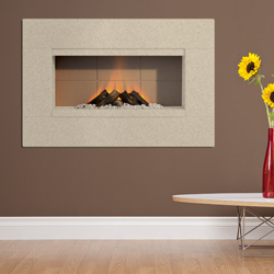 Europa Fireplaces Kasko Chiffon Electric Fire