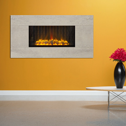 Europa Fireplaces Loko Wide Calico Wall Mounted Electric Fire