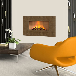 Europa Fires Luna Truffle Wall Mounted Electric Fire