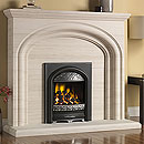 Pureglow Wychbury Full Depth Gas Fireplace Suite