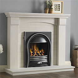 Pureglow Kingsford Full Depth Gas Fireplace Suite
