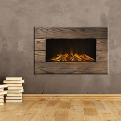 Europa Fireplaces Trika Wall Mounted Electric Fire