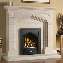 Pureglow Harvington Full Depth Gas Fireplace Suite