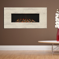 Europa Fireplaces Zeno Calico Wall Mounted Electric Fire