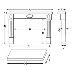 Fireplace Diagram