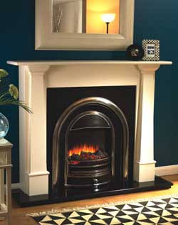Flamerite Bronte Electric Fireplace Suite
