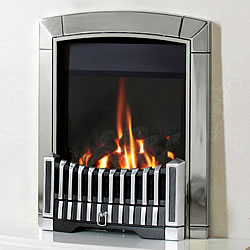 Flavel caress he contemporary gas fire lowest price in the uk for Modern gas fireplace price