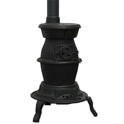 Gallery Cedar Pot Belly Multifuel Stove