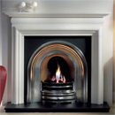 Gallery Crown Highlight Cast Iron Arch Solid Fuel Package
