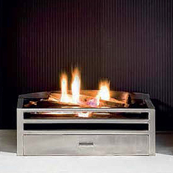 Gallery Krypton Gas Basket Fire
