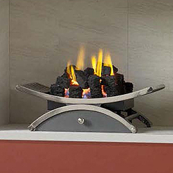 Gallery Nexus Small Gas Basket Fire
