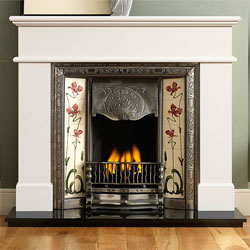 Gallery Normandy Cast Iron Solid Fuel Package
