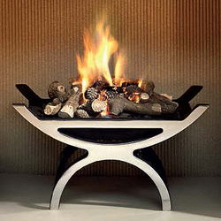 Gallery Pulse Gas Basket Fire