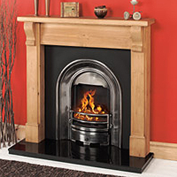 Gallery Sutton Cast Iron Arch Solid Fuel Package