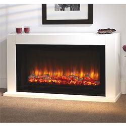 Suncrest Cleadon Electric Fireplace Suite