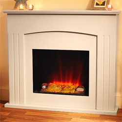 Suncrest Sockburn Electric Fireplace Suite