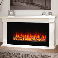 Garland Fires Castel Electric Fireplace Suite