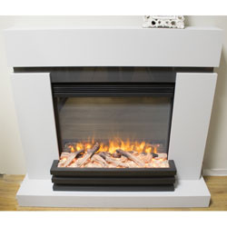 Garland Fires Corolla Electric Fireplace Suite