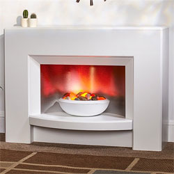 Suncrest Stockeld Electric Fireplace Suite