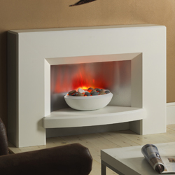 Garland Fires Kennedy Electric Fireplace Suite