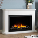 Katell Milan Electric Fireplace Suite