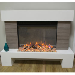 Garland Fires Lament Electric Fireplace Suite