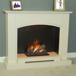 Garland Fires Monza Opti-Myst Electric Fireplace Suite Mk2