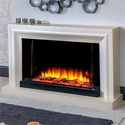 Garland Fires Portland Modern Freestanding Electric Suite