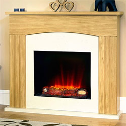 Garland Fires Rennes Electric Fireplace Suite