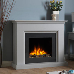 Garland Fires Rhine Electric Fireplace Suite