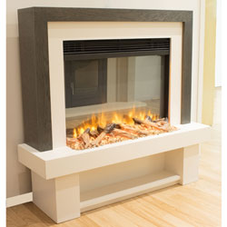 Garland Fires Silverado Electric Fireplace Suite